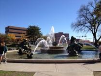 Fountain @ plaza